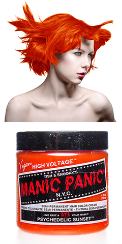 Manic Panic Semi-Permanent Vegan Hair Dye - Psycheldelic Sunset