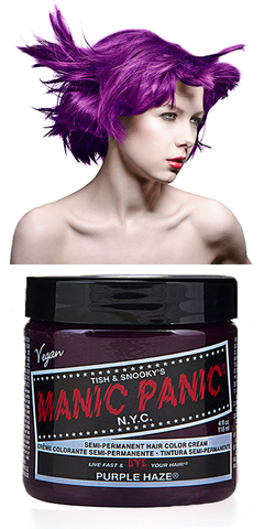Manic Panic Semi-Permanent Vegan Hair Dye - Purple Haze