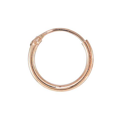Kingsley Ryan - Rose Gold Sterling Silver Ear Hoops