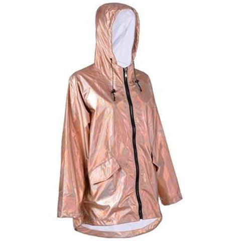 Raincoat Iridescent Rose Gold