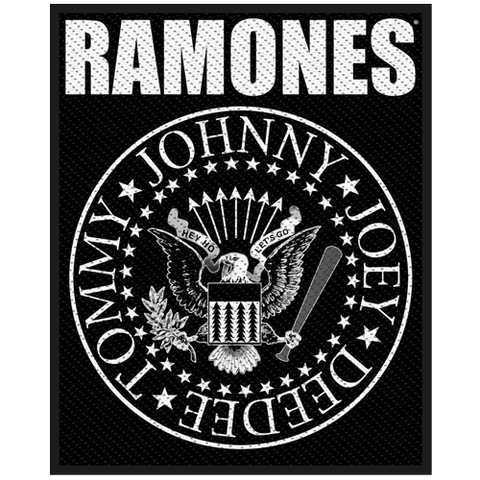 Woven Patch - Ramones 'Classic Seal'