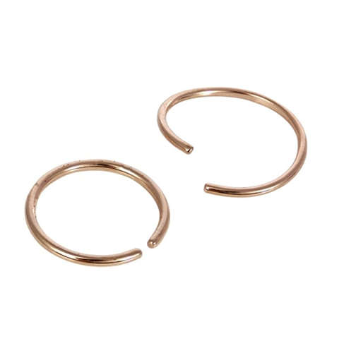 Kingsley Ryan - Surgical Steel Rose Gold Twist Nose Ring