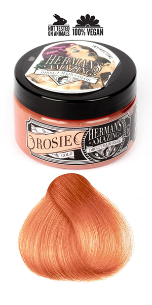 Herman's Amazing Professional Hair Colour - Rosie Rose Gold