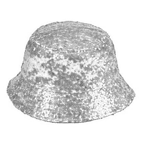 Sequin Bucket Hat