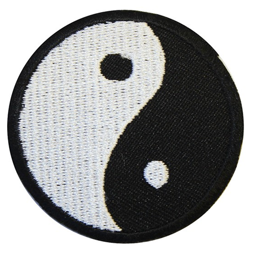 Iron On Patch - Yin Yang
