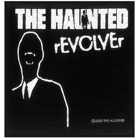 Woven Patch - The Haunted 'Revolver'