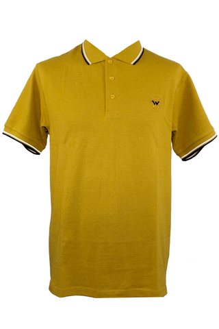 Warrior England - Keep the Faith Polo Shirt Mustard