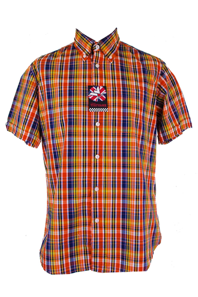 Warrior England - Classic Button Down Shirt Reed