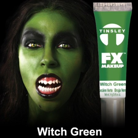 Tinsley Transfers - FX Makeup Witch Green Face Paint