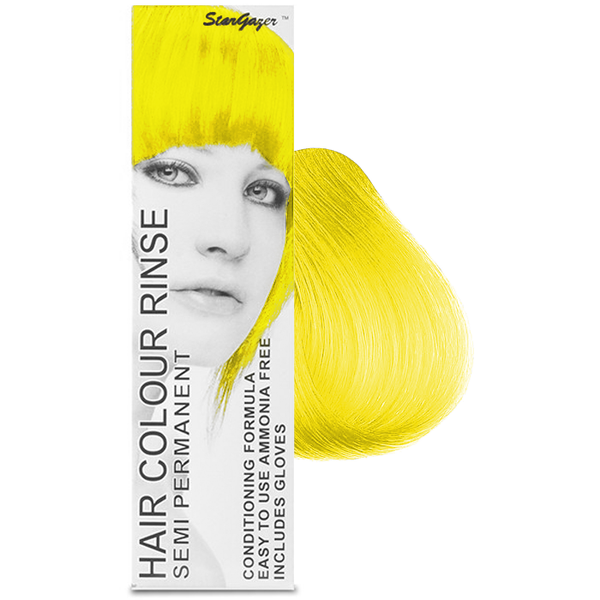 Stargazer Cruelty Free Hair Dye - Yellow