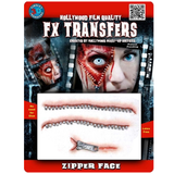Tinsley Transfers - 3D FX Transfers Zipper Face