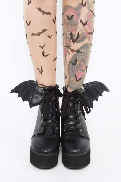 Iron Fist - Bat Royalty Bat Wing Boot