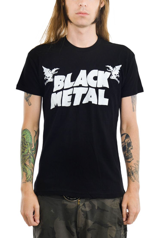 Too Fast - Black Metal T-Shirt