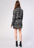 Glamorous - Camo Cropped Denim Jacket