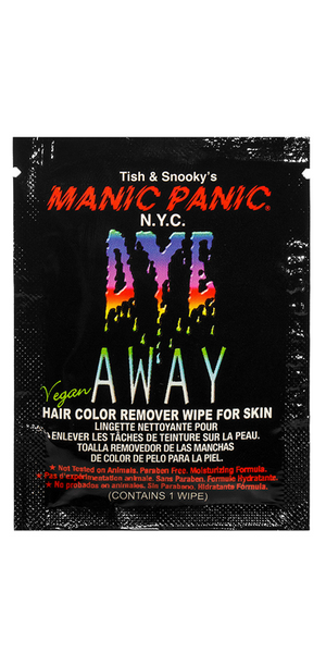 Manic Panic - Dye Away Hair Dye Removal Wipes