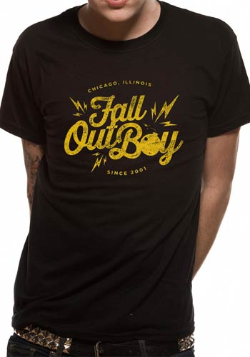 Officially Licensed - Fall Out Boy Bomb T-Shirt