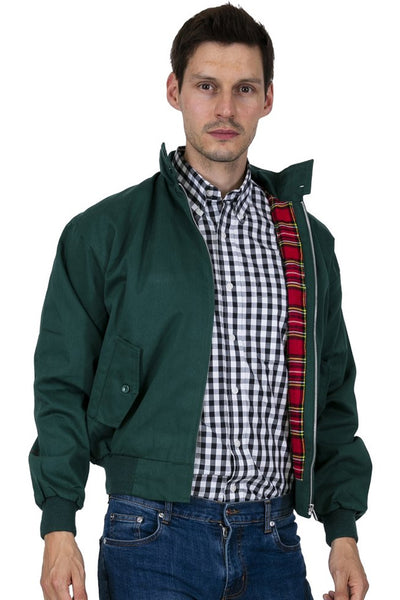Relco London - Harrington Jacket Bottle Green