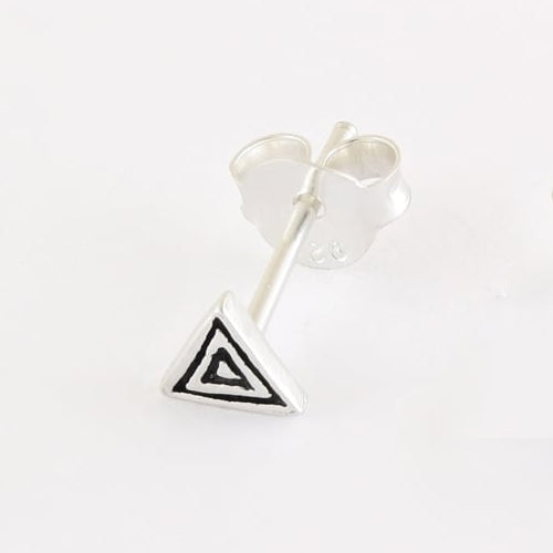 Kingsley Ryan - Hypnotic Triangle Ear Stud