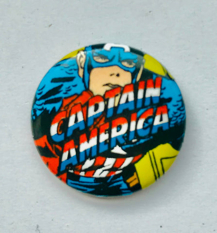 25mm Button Badge - Captain America