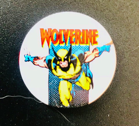 25mm Button Badge - Wolverine