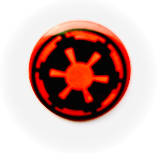 25mm Button Badge - Star Wars Imperial Logo