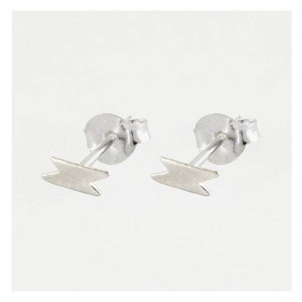 Kingsley Ryan - Silver Lightning Ear Stud