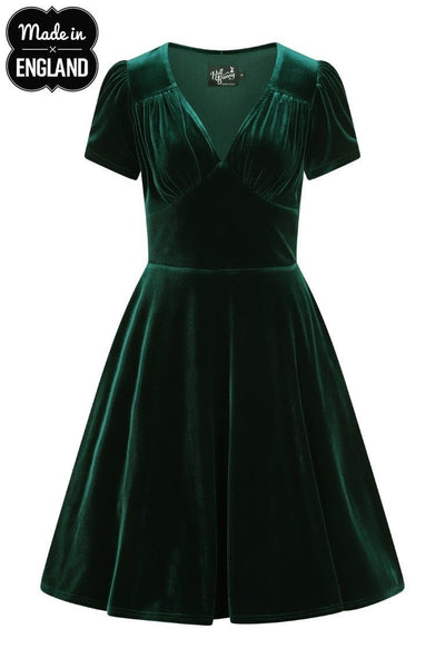 Hell Bunny - Joanne Dress Green