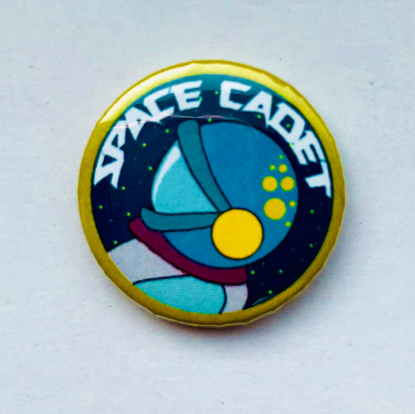 25mm Button Badge - Space Cadet