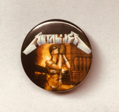 25mm Button Badge - Metallica