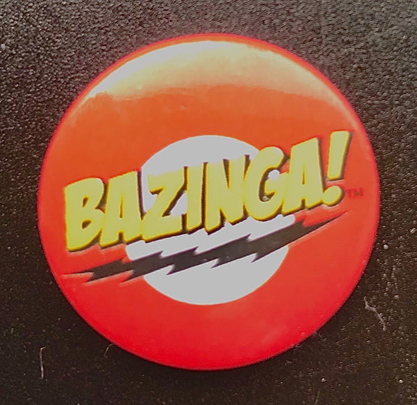 25mm Button Badge - Bazinga
