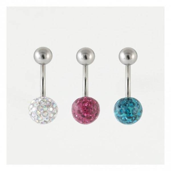 Kingsley Ryan - Disco Resin Belly Bar