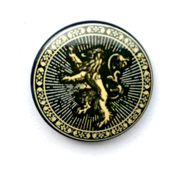 25mm Button Badge - GOT Lannister Sigil