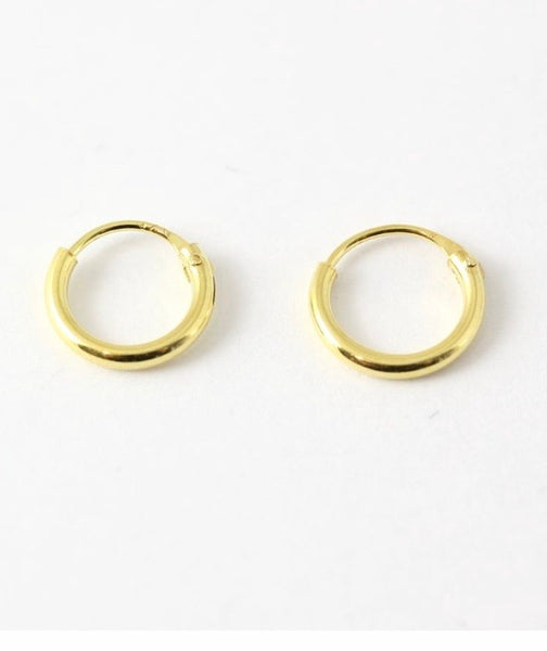 Kingsley Ryan - Gold Sterling Silver Ear Hoops