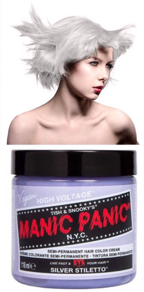 Manic Panic Semi-Permanent Vegan Hair Dye - Silver Stiletto