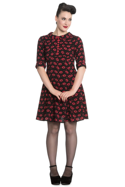 Hell Bunny - Kiss Me Deadly Dress