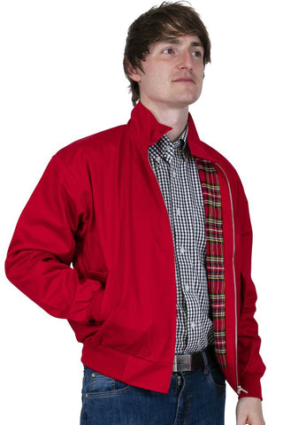 Relco London - Harrington Jacket Red