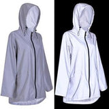Raincoat Reflective Silver