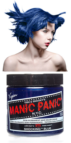 Manic Panic Semi-Permanent Vegan Hair Dye - Shocking Blue