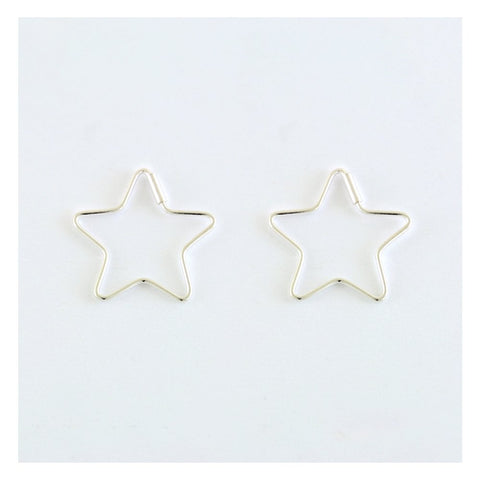 Kingsley Ryan - 17mm Star Hoops