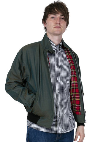 Relco London - Harrington Jacket Tonic Green