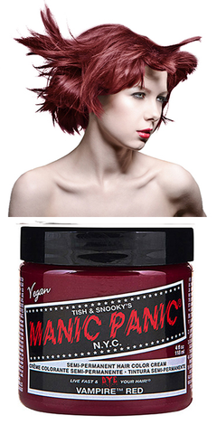 Manic Panic Semi-Permanent Vegan Hair Dye - Vampire Red