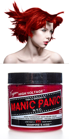 Manic Panic Semi-Permanent Vegan Hair Dye - Vampire's Kiss