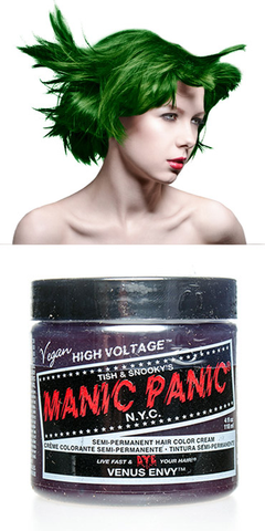 Manic Panic Semi-Permanent Vegan Hair Dye - Venus Envy