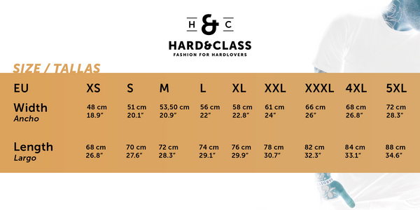 Hard&Class Pride T-Shirt - Blue limited edition
