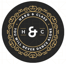 HARD & CLASS - YOU WILL NEVER DANCE ALONE Logo