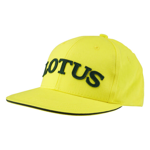Kids Cap - Yellow Hat - Lotus Cars - Sportscars