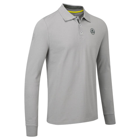 Long Sleeved Polo - Lotus Lifestyle Collection - Mens Top - Sportscars