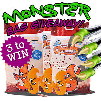 Halloween Monster bag Giveaway