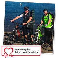 Fundraising for British Heart Foundation