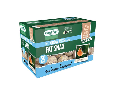Gardman 50 x No Grow Fat Snax